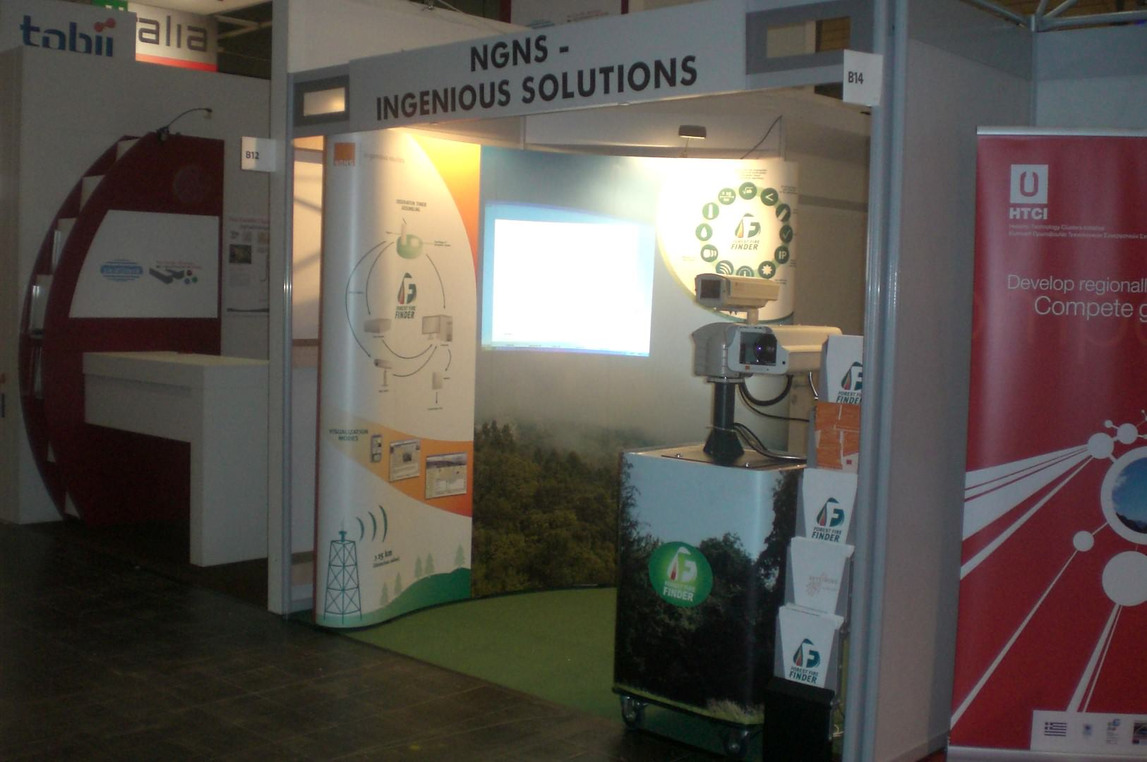 NGNS - Ingenious Solutions at CeBIT, Hannover, Germany