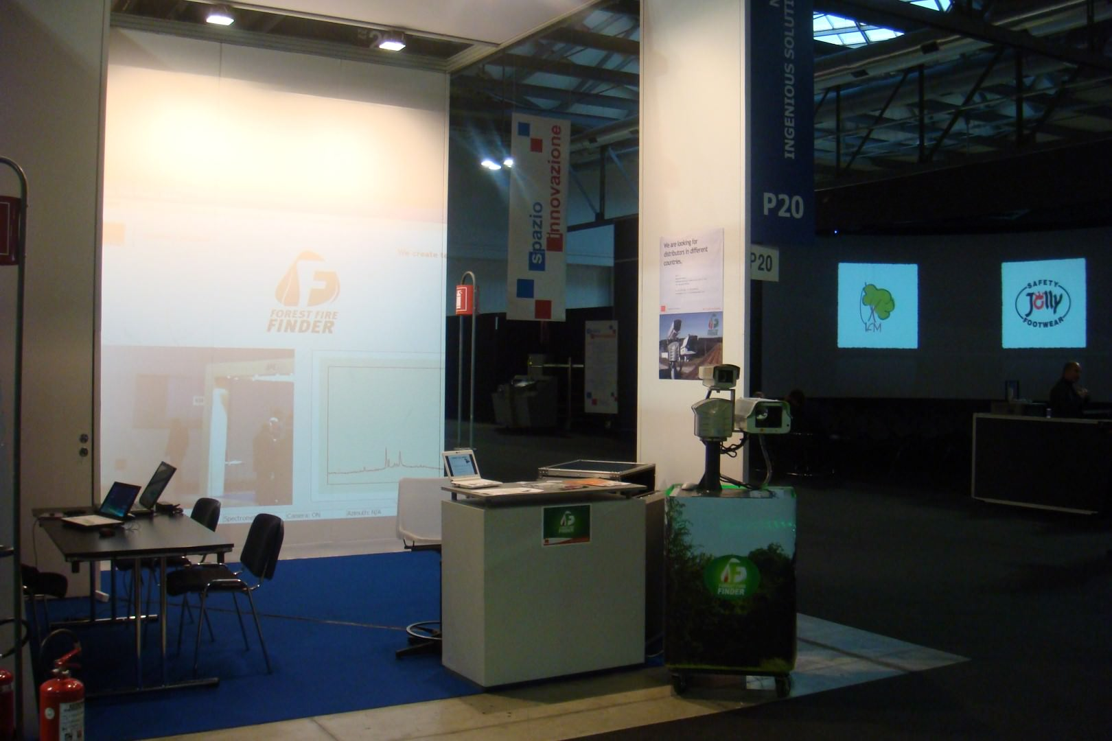 NGNS - Ingenious Solutions at Sicurezza, Milan, Italy