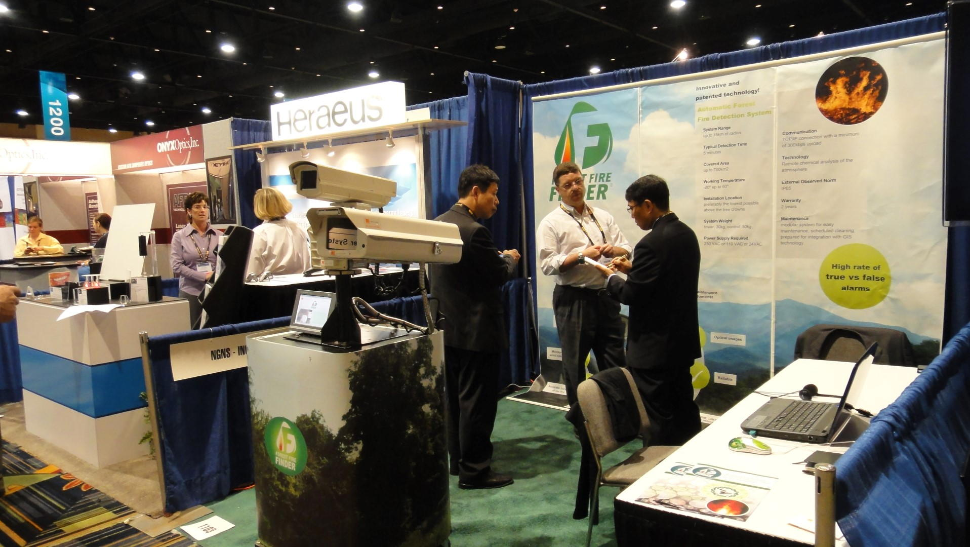 NGNS - Ingenious Solutions at Security Fair, Orlando, USA