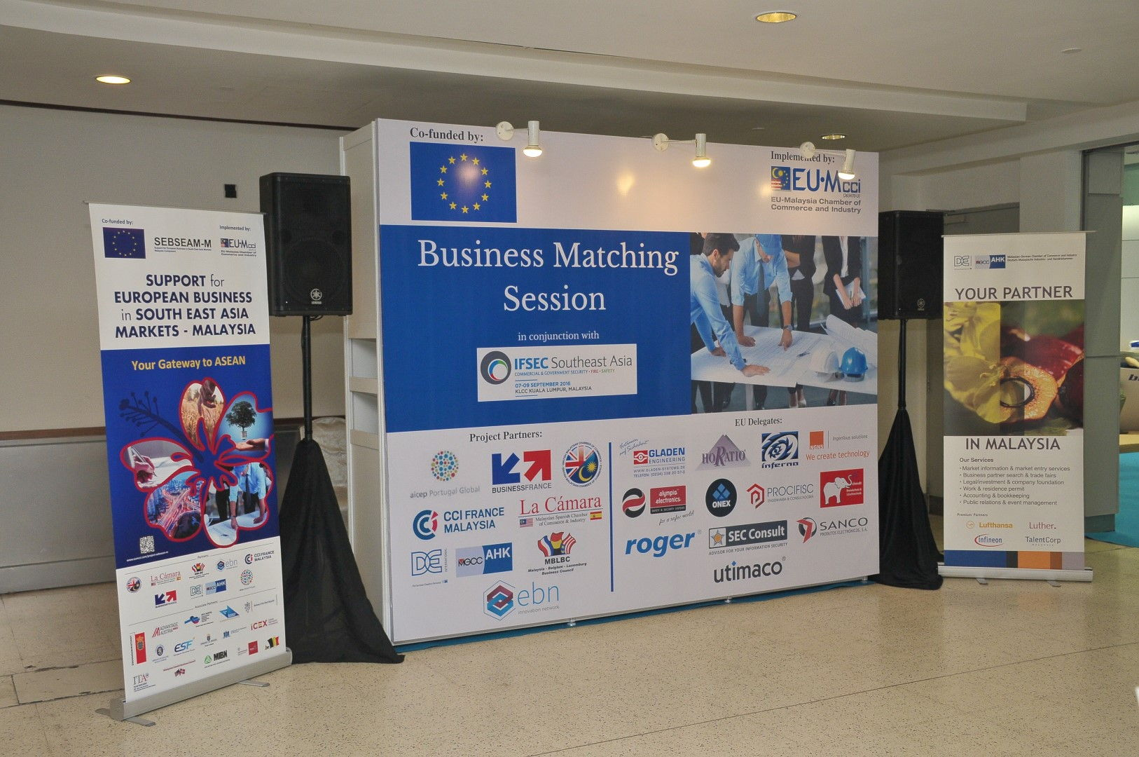 NGNS - Ingenious Solutions at Business Matching Session, Kuala Lumpur, Malaysia