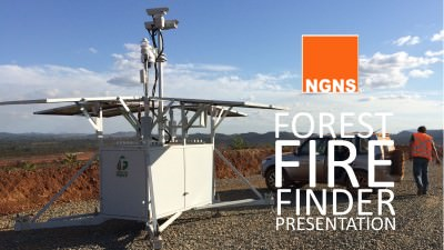Forest Fire Finder presentation